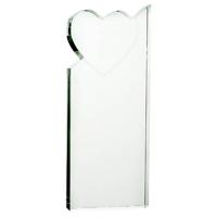Large crystal heart award