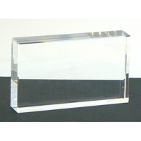 Optical crystal block