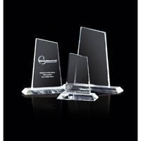 Medium crystal peak trophy