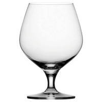 Heavy Bottom Durham Crystal Brandy Glass