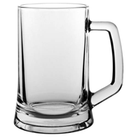 Contemporary plain tankard bulk packed
