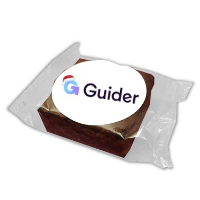Brownie (5cm Square, Sticker)