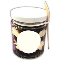 Cake Jars (Chocolate Caramel)