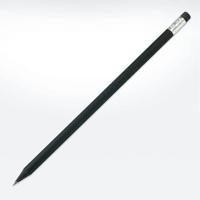 Wooden Black Pencil with Eraser - FSC