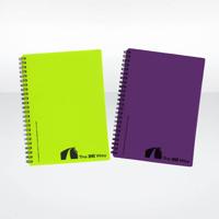 Recycled Polypropylene Notebook A6