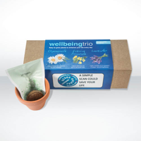 3 in 1 Indoor Garden Set - Wellbeing