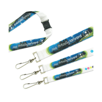 Recycled PET Dye Sub Lanyard 10mm