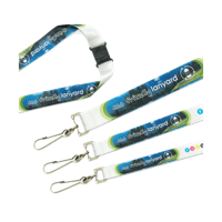 Recycled PET Dye Sub Lanyard 20mm
