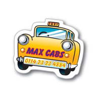 Flexible Fridge Magnet Car Taxi