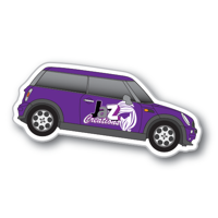 Flexible Fridge Magnet Car Mini