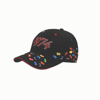 Jelly Bean Emboidered 6 Panel