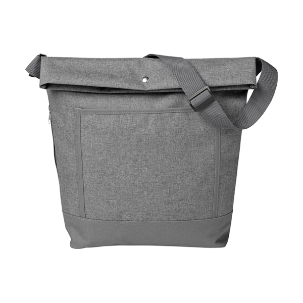 Poly canvas (600D) lady tote bag