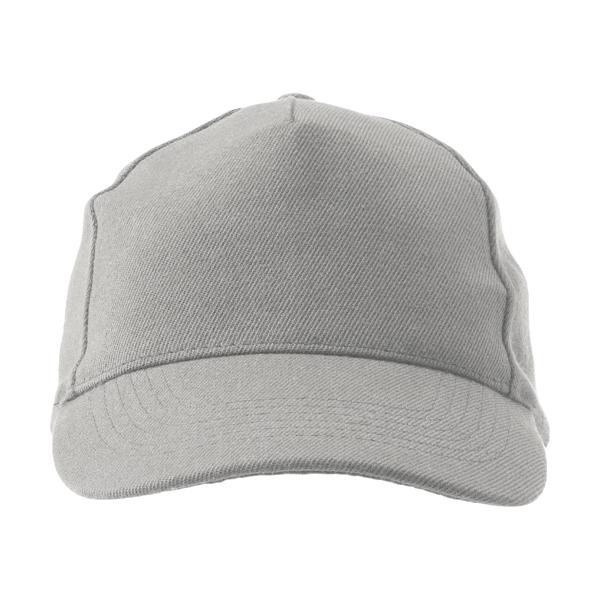 Five panel acrylic cap.
