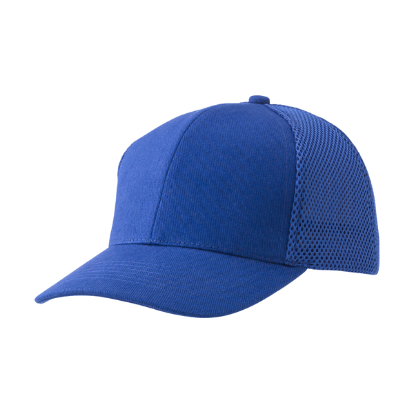 Heavy brushed cotton cap with six panels.