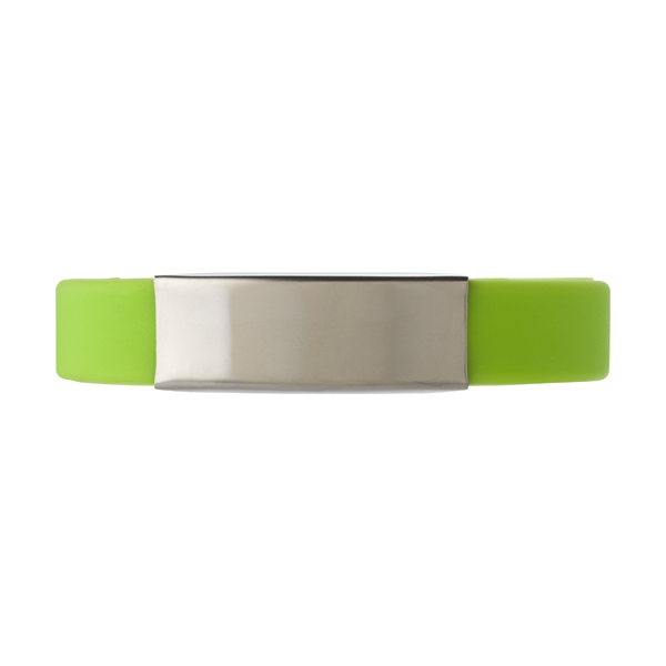 Silicone wristband in vibrant colours