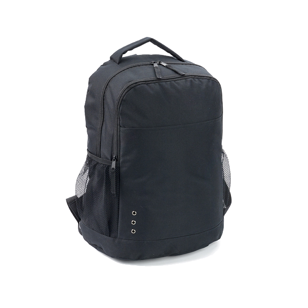 Backpack in a 600d polyester.