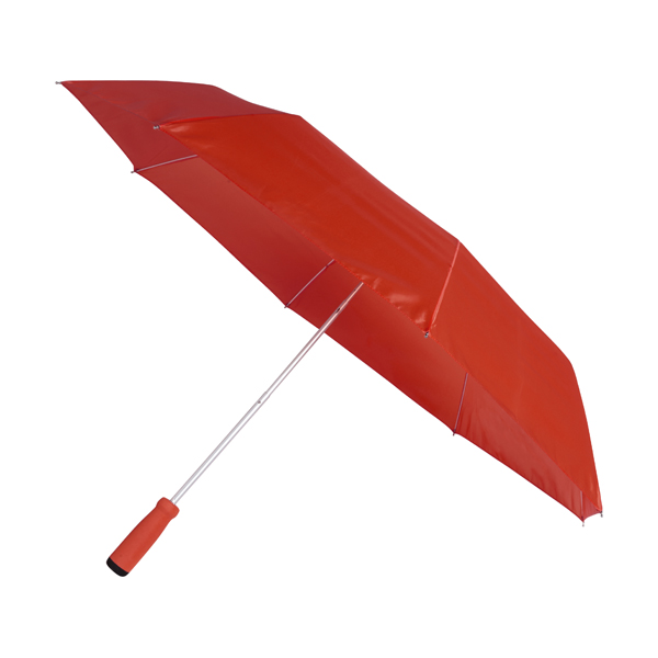 Foldable umbrella.