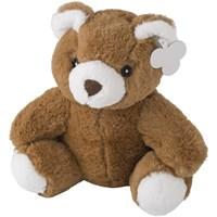 Teddy bear in a plush material.