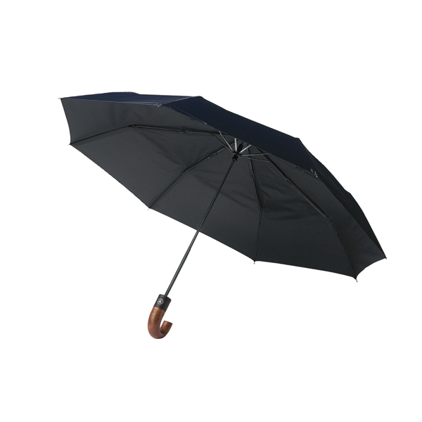 Automatic polyester foldable eight panel umbrella.