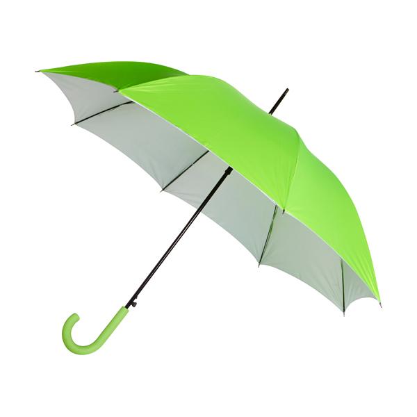 Automatic storm proof umbrella.
