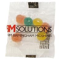 10g Fruit pastilles or jelly bean bag