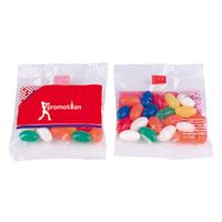 25g Fruit pastilles or jelly bean bag