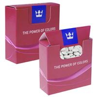 Mini box with oval mints