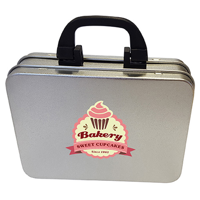 Suitcase tin with choice of sweets or mints