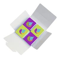 Chocolates in printed box