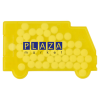 Truck shaped mint card