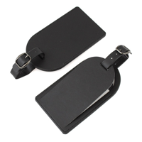 Hampton Leather Large Luggage Tag