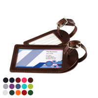 Small Luggage Tag in a choice of Belluno Colours