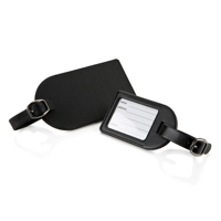 Small Luggage Tag with Clear Window