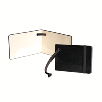 Notebook Style Luggage Tag with Elastic Strap
