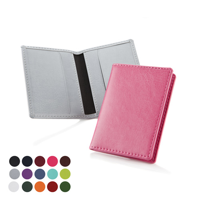 Credit Card case in a choice of Belluno Colours