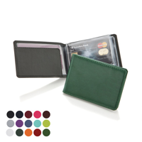 Deluxe Credit Card case in a choice of Belluno Colours