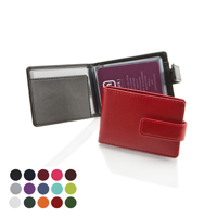 Deluxe Credit Card Case with a Strap.in a choice of Belluno Colours
