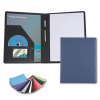 Belluno PU A4 Conference Folder in a choice of Belluno Colours
