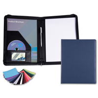 Belluno A4 Zipped Conference Folder in a choice of Belluno Colours