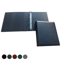 Hampton Leather A4 Extra Wide Ring Binder