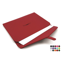 Belluno Coloured  PU Envelope Style Underarm / Laptop Sleeve with Strap