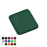 Deluxe Square Coaster with Edge Stitching in a choice of Belluno Colours