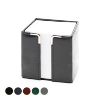 Hampton Leather Tall Pad Block Holder