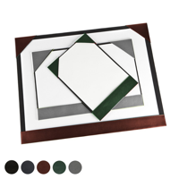 Hampton Leather A4 Desk Pad Blotter