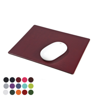 Leatherette Mouse mat in a choice of Belluno Colours