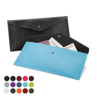 Envelope Style Travel or Document Wallet in a choice of Belluno Colours