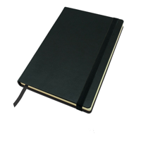 Buckingham Coloured Leather A5 Casebound Notebook