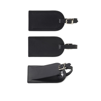 Sandringham Nappa Leather Luggage Tag