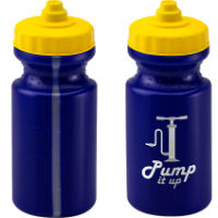 Viz Sports Bottle 500ml Blue
