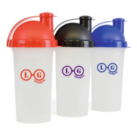Plastic Shaker 700Ml Single Walled Plastic Protein Shaker